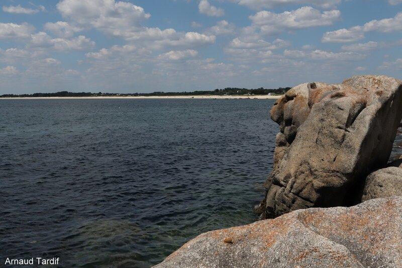 00351 Guidel - Le côté droit de la Pointe de Trévignon