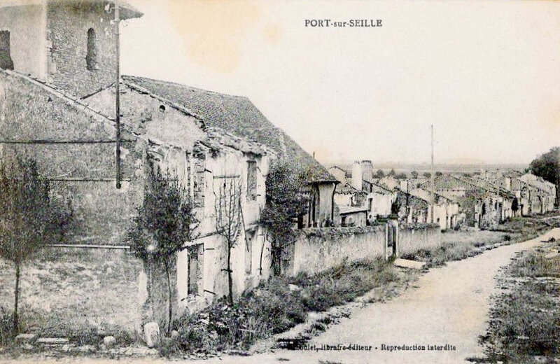 Port-sur-Seille, ruines