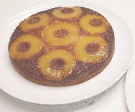 Gâteau moelleux ananas