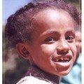 Visages d'Addis Abeba : Fillette