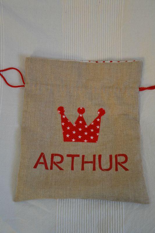 sac arthur rouge