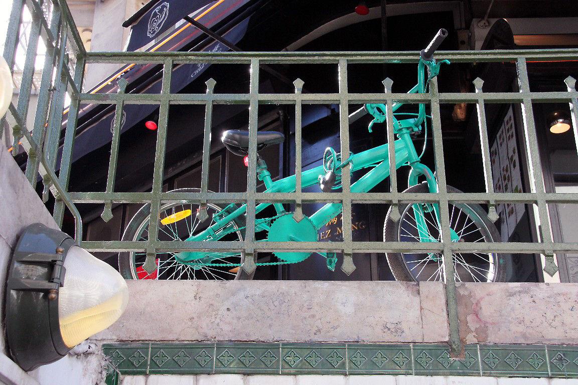 vélo, Métro_8212