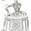 Expo j-p gaultier/régine chopinot (costumes de
