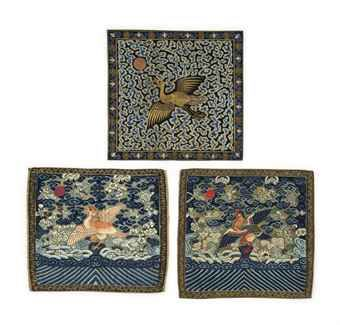 three_pairs_of_civil_rank_badges_qing_dynasty_and_later_d5564379h
