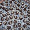 Escargots aux chocolats