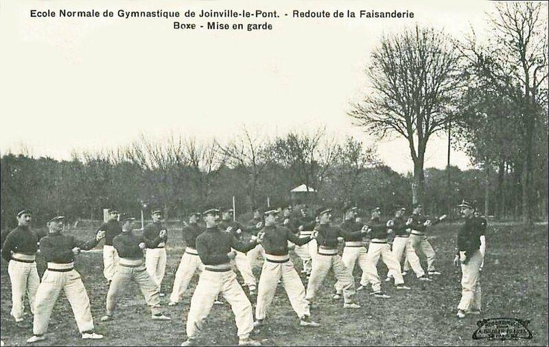 CPA Joinville Entraînement boxe