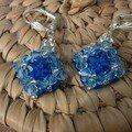 BO carrées bleues