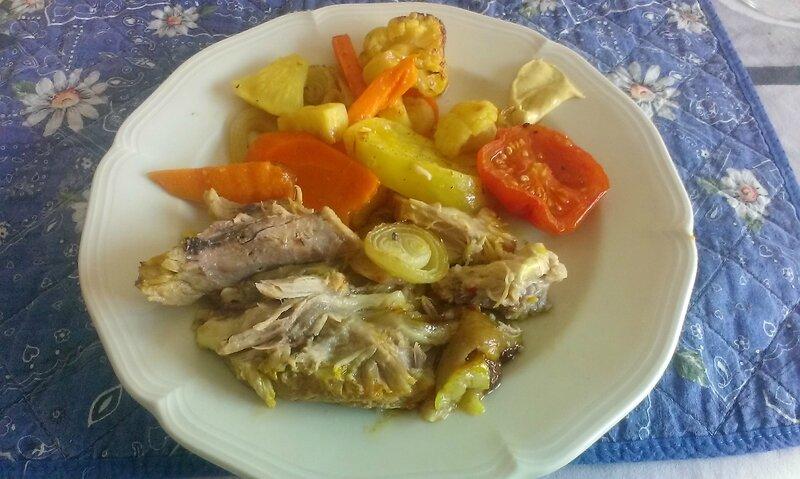 Jarret et ribs de porc aux légumes (15)