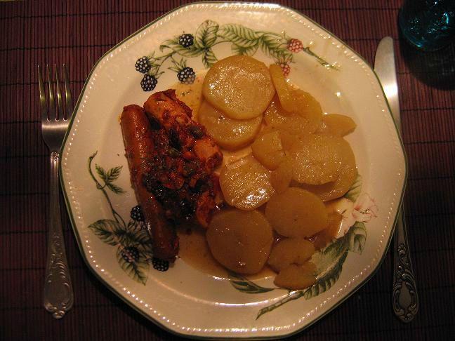 saucisses puttanesca (d'Edie) végétariennes