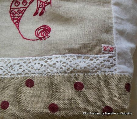 1-sac dentelle tricot 12