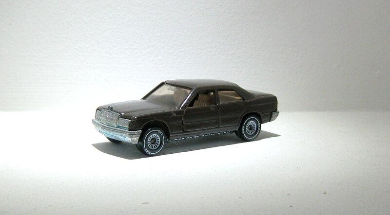 Mercedes 190 E (ref 1054) Siku 01