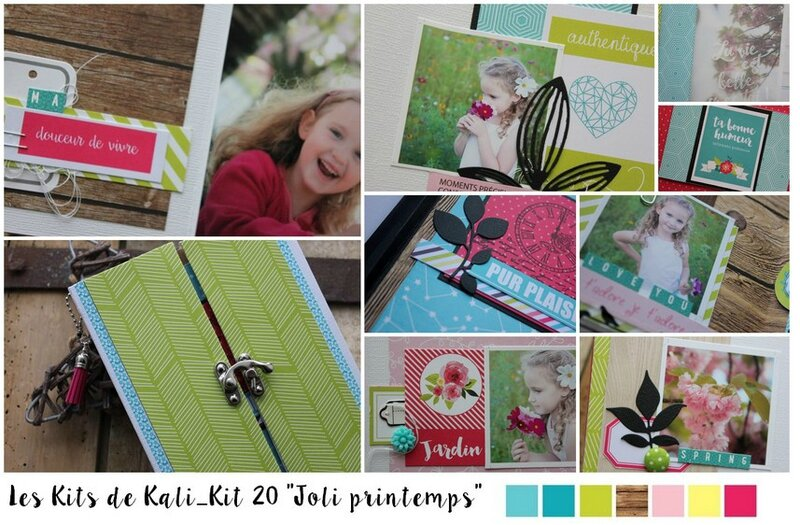KIT 20 JOLI PRINTEMPS