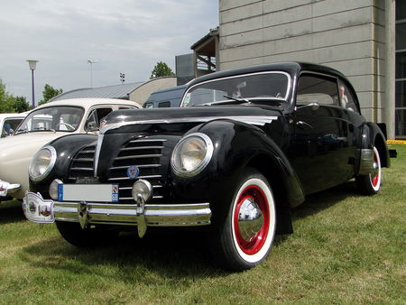ROSENGART Supertraction Coupe 1939 Broc aux Tacots de Richwiller 2010 4