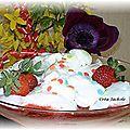 Oeufs à la fraise