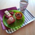 Muffins framboises & chocolat blanc pour la fête des mères