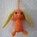 Petit lapin orange