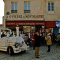 Rue Norvin sur la butte Montmartre.