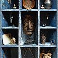 'l'ancien naît moderne', hommage à nicolas landau réalisé par axel vervoordt avec plusieurs objets ayant appartenus à nicolas la