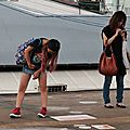 2 Girls @ Tsuruhashi station