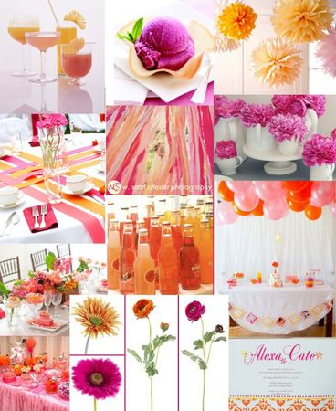 fuschiaandorangeinspirationboard