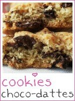 cookies choco-dattes - index