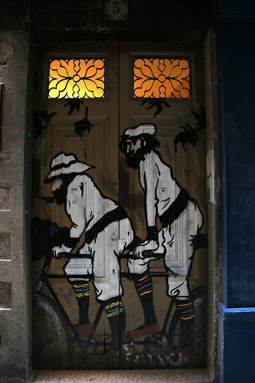 Barcelone, art urbain_5102
