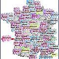 La france est vraiment couverte de fleurs ...guyane, canada, grèce, burkina fasso, belgique .
