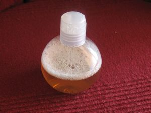 gel douche pomme cannelle