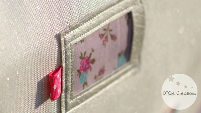 Cartable maternelle porte étiquette
