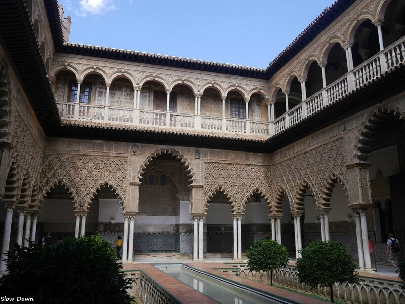 Real Alcazar patio de las Doncellas 3