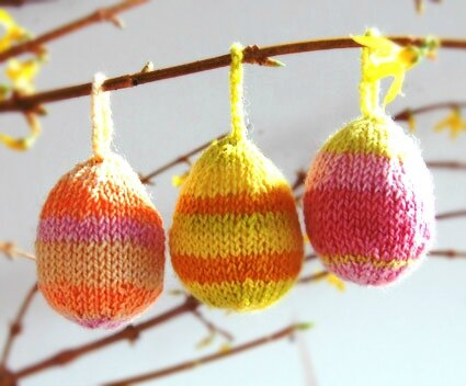 easter knitting