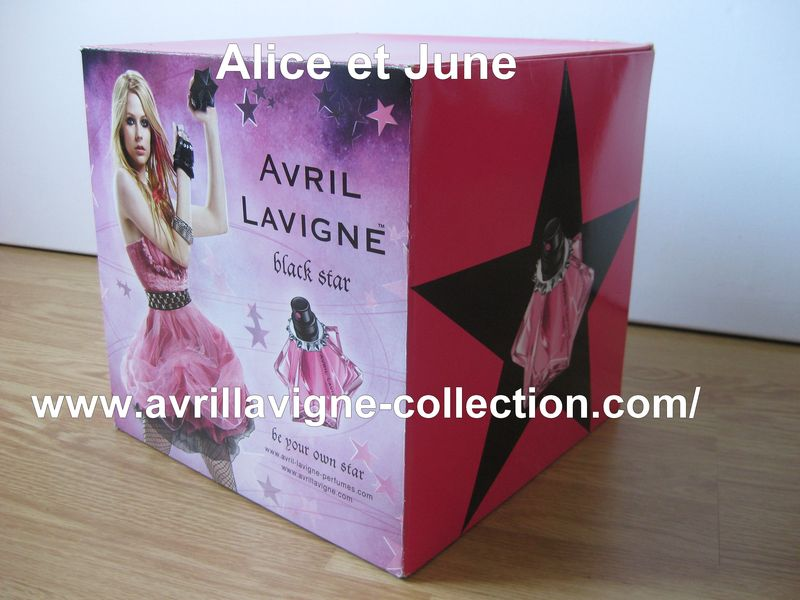 Black Star product - Cube promotionnel de parfumerie