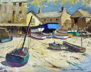 port-isaac-painting