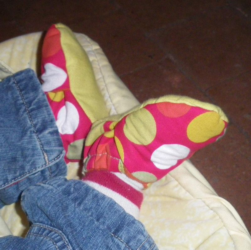 Chaussons Rouges