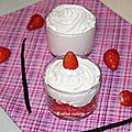 Fraises chantilly vanille