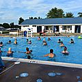 Aqua zumba at macungie pool