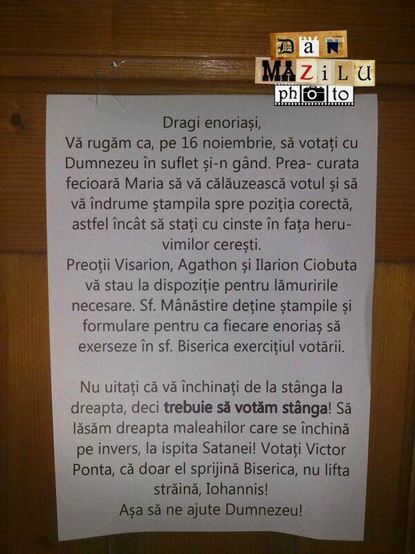 priests vote ponta