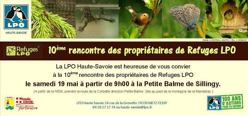 Invitation Journée REFUGES LPO