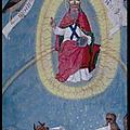 [mandorle] [4 animaux] dieu le père en majesté