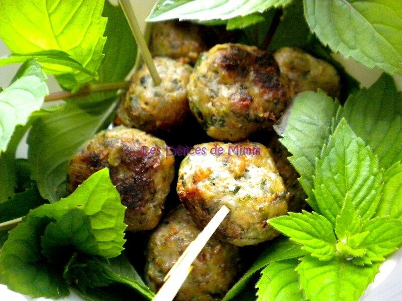 Petites boulettes de viande pour l'apéro (kefta) 4