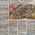 Nouvelle aoc camembert de normandie: surveiller les bretons, réveiller les... normous!