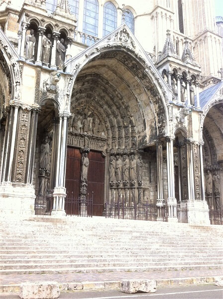 cathedrale chartres portail lateral sud 43