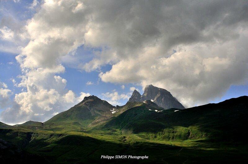PHS-64-7079 Pic du Midi d'Ossau depuis le Col du Pourtalet