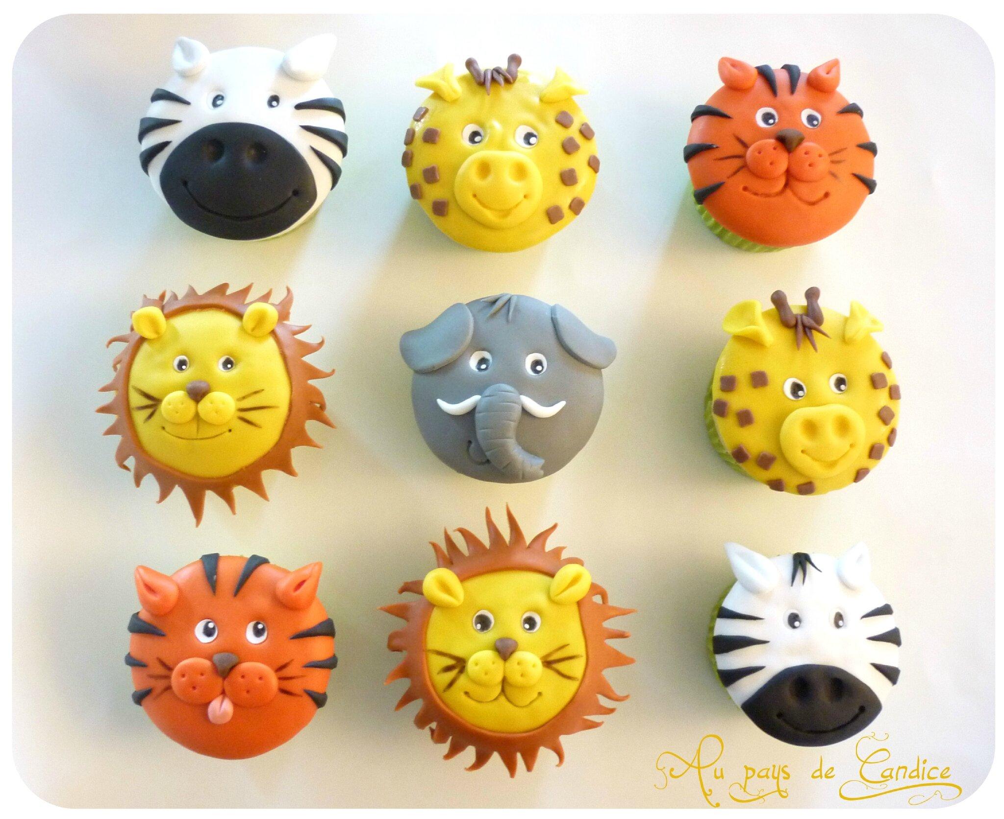 Cupcakes De La Savane Au Pays De Candice