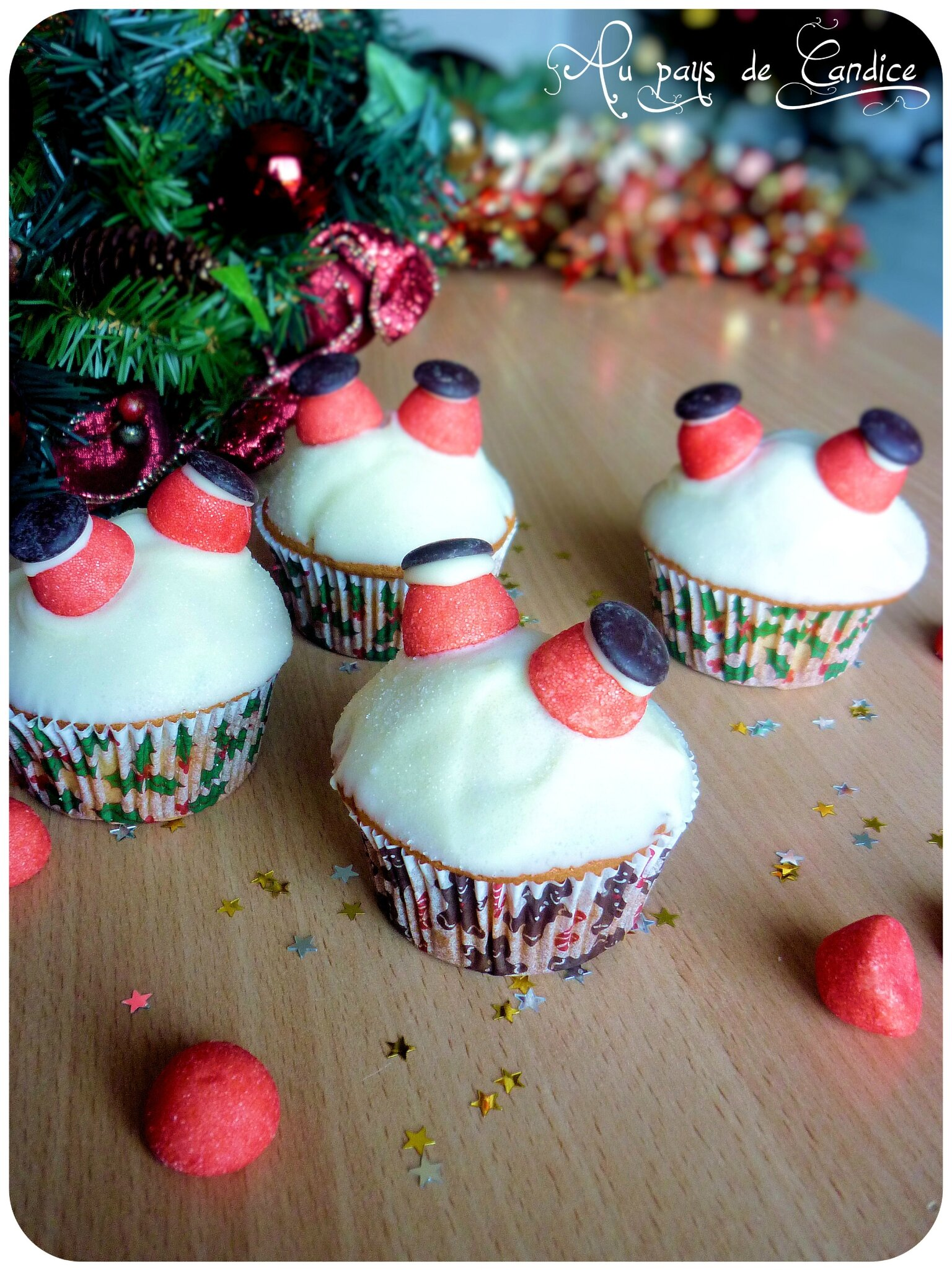 Decoration De Noel Cupcake