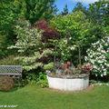 Un jardin intimiste, véritable invitation à la flânerie…