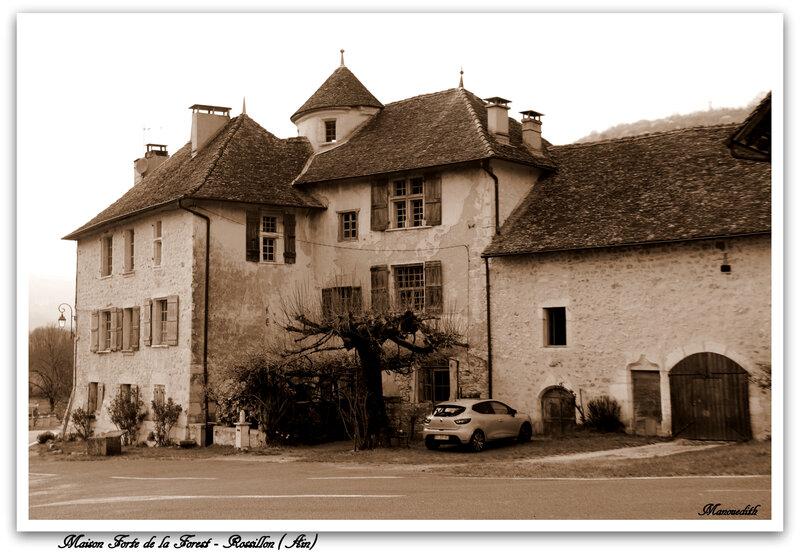 0 Maison forte de Rossillon