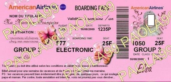 billet avion-