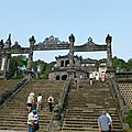 Hue: les tombeaux impériaux