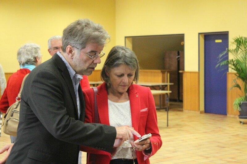 Marie-Françoise Kurdziel FN sud Manche élections européennes Avranches 2014